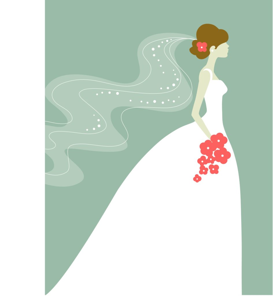 free-wedding-dress-clipart