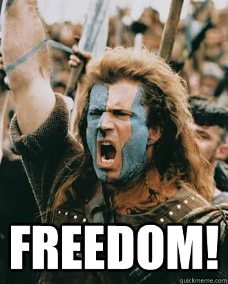 Freedom Mel Gibson