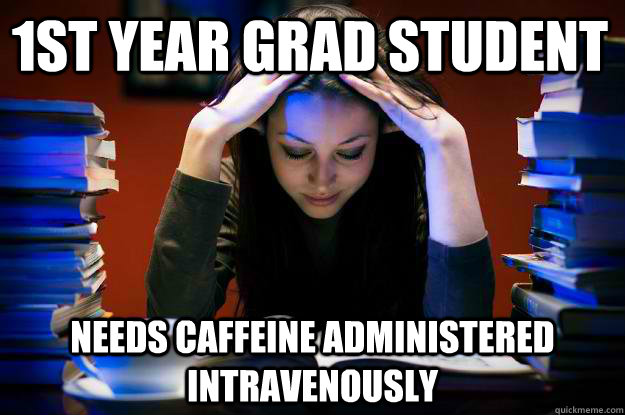 First year grad student