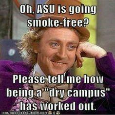 asu dry campus
