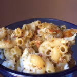 Caramelized cauliflower pasta