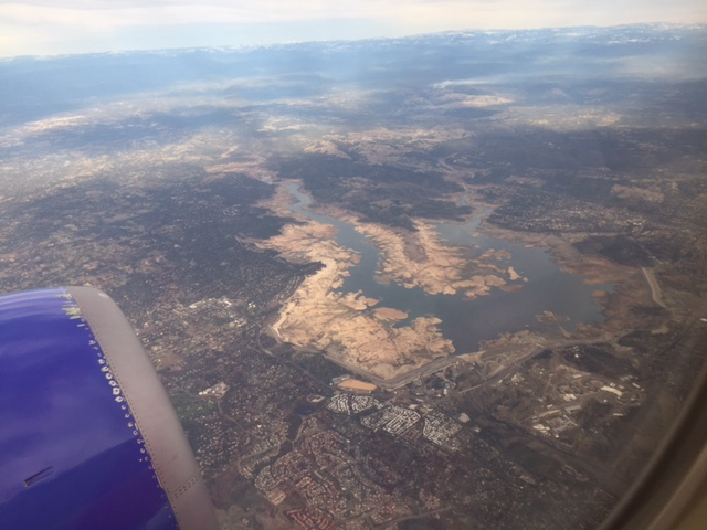 Empty Folsom Lake.