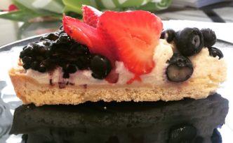 Harris Ranch fruit tart makes a divine birthday breakfast, fyi.