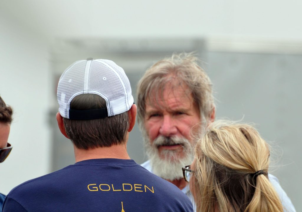 Harrison Ford at EAA