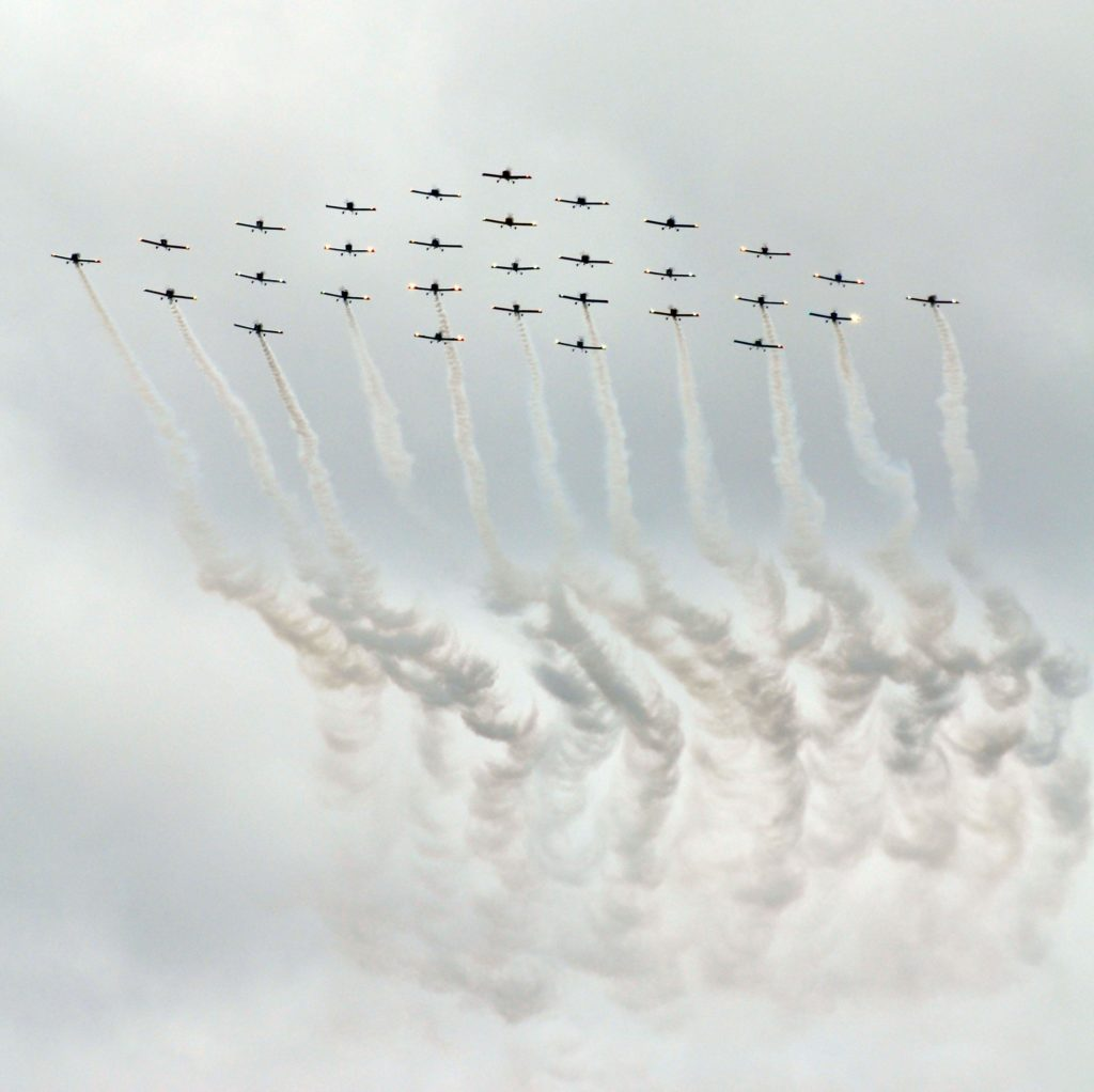 RV-6 30th anniversary formation