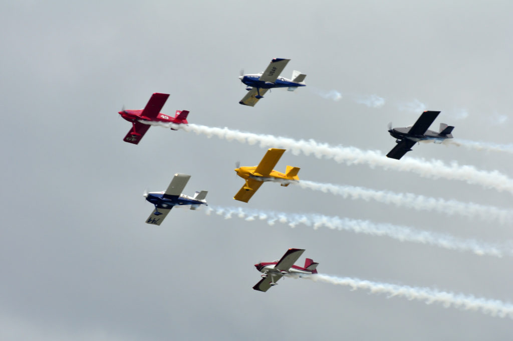 West Coast Ravens formation EAA AirVenture Oshkosh
