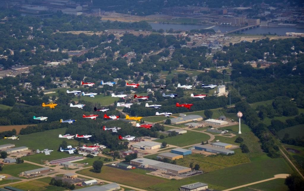 Formation flying Rock Falls, IL
