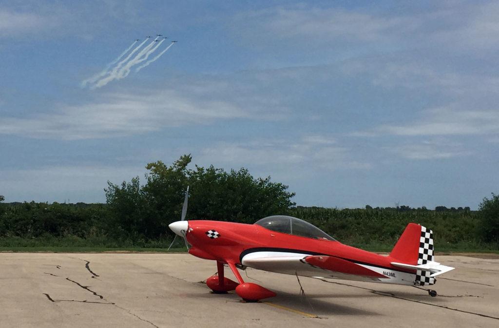 RV-4 and formation flight