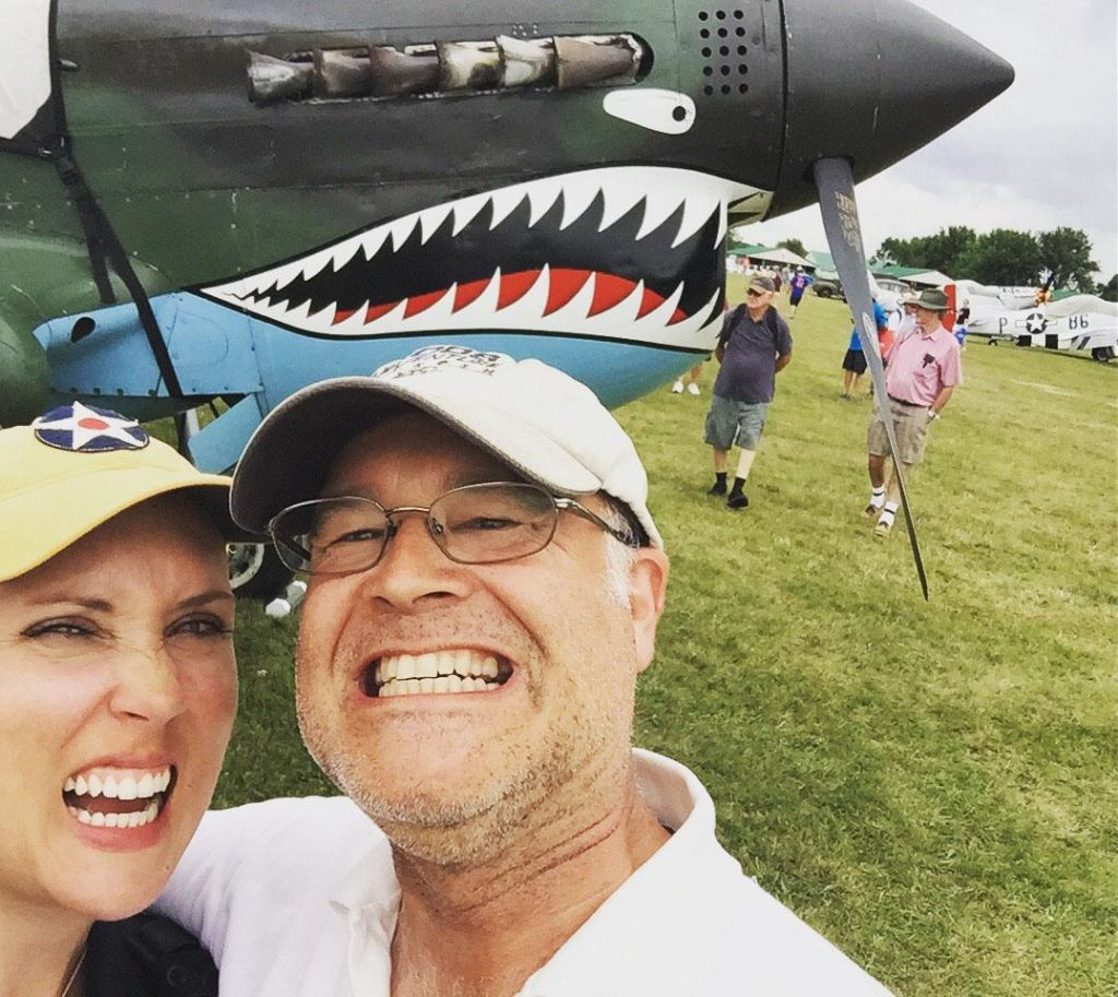 P-40 selfie faces.