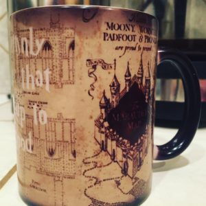 Heat activated Maurader's Map Mug