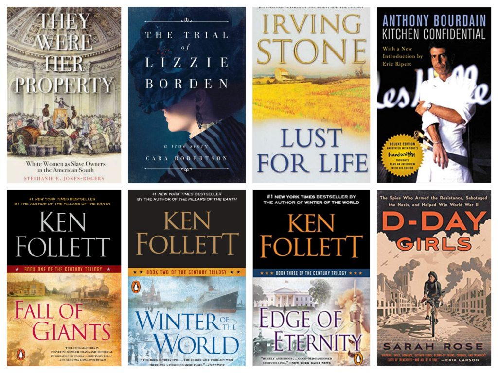 Best nonfiction and historical fiction books