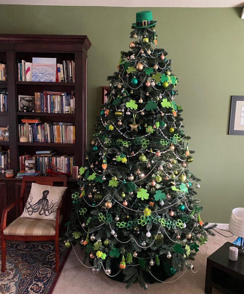 St. Patricks Day Christmas Tree